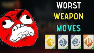 Shadow Fight 3 Worst Weapon Moves All Factions