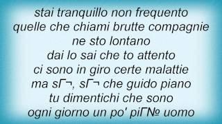 Eros Ramazzotti - Ciao Pa Lyrics