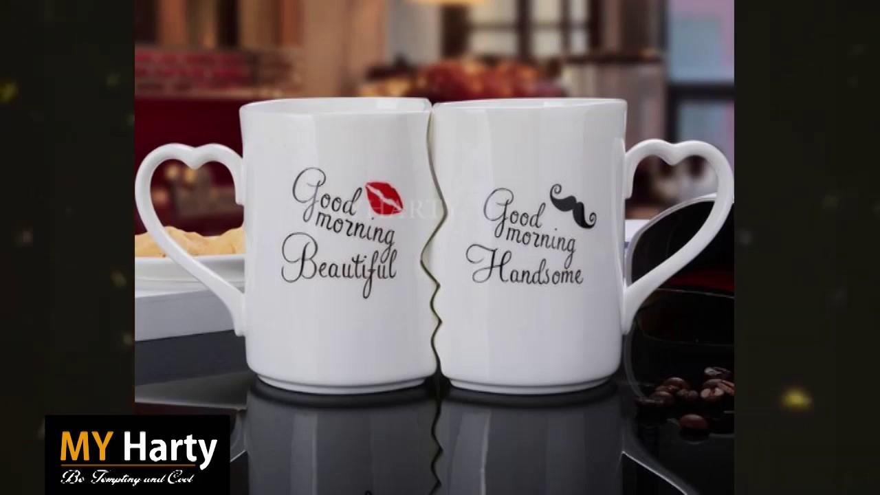 Good Morning Beautiful Handsome Coffee