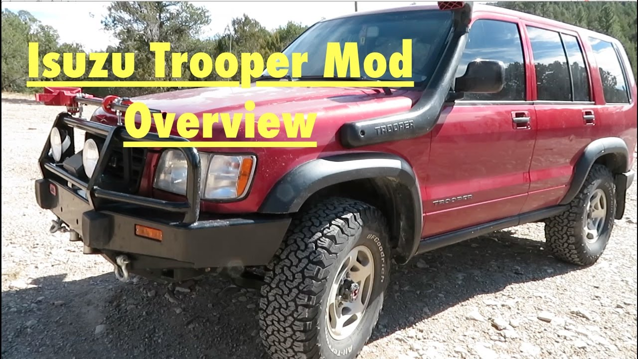 VLOG 2: Isuzu Trooper Mod Overview - 200000 Mile Special