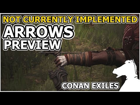 Not currently implemented ARROWS PREVIEW   CONAN EXILES