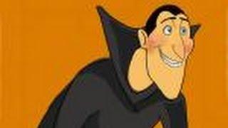 How to draw Dracula from Hotel Transylvania