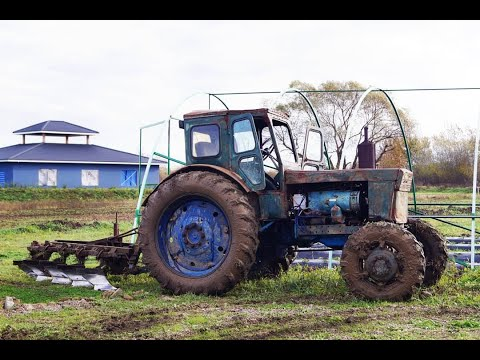 видео: Советский динозавр трактор Т40