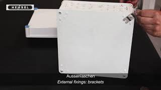 Mi - Wandhalterungen, Montageschiene, Aussenlaschen / Wall and external fixings: rails, brackets