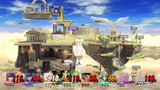 Test Chamber - 8-Player Super Smash Bros. Wii U, Part 3