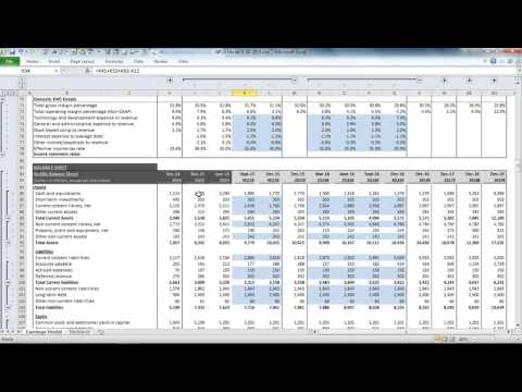 Netflix NFLX Earnings & Valuation Model Demonstration