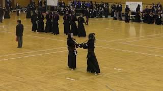 諸岡選手の素晴らしい一本です(九州学院→中央大学)- high level kendo ippon