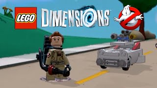 LEGO Dimensions Ghostbusters Peter Venkman free roam - First impressions!