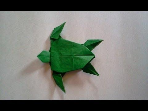 Origami Turtle (Robert J. Lang) | Doovi - photo#25