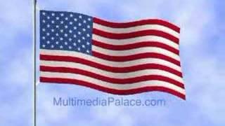 USA Animated Flag.