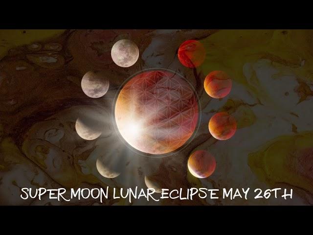 Super Moon Lunar Eclipse May 26th