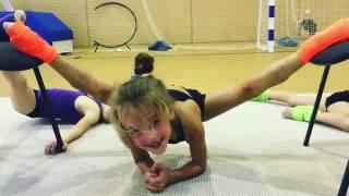Художественная гимнастика. Растяжка.(Художественная гимнастика. Растяжка., 2016-08-23T20:27:17.000Z)