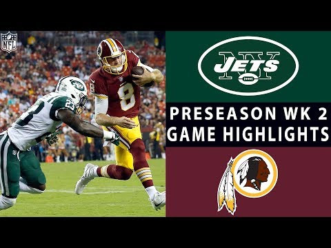 Jets vs. Redskins Highlights | NFL 2018 Preseason Week 2 thumbnail