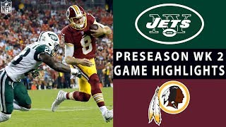 Jets vs. Redskins Highlights | NFL 2018 Preseason Week 2