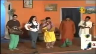 Punjabi Songs Stage Drama Qawwali Sajan Abbas  Pakistani Funny Clips