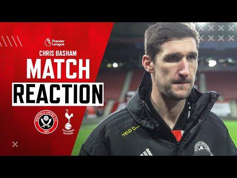 Chris Basham | Match Reaction Interview | Sheffield United 1-3 Tottenham Hotspur.