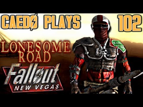 Laser Detonating! - Caedo Plays Fallout: New Vegas #102 - Lonesome Road (Buckaroo Build) thumbnail