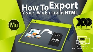 #12 How To Export Your Adobe Muse Website In HTML | XOAD
