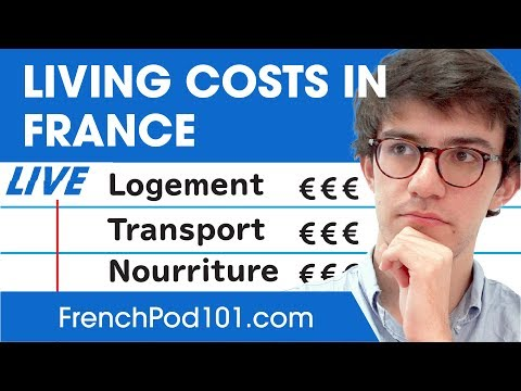 How Expensive Is French Everyday Life? Cost Of Living In France