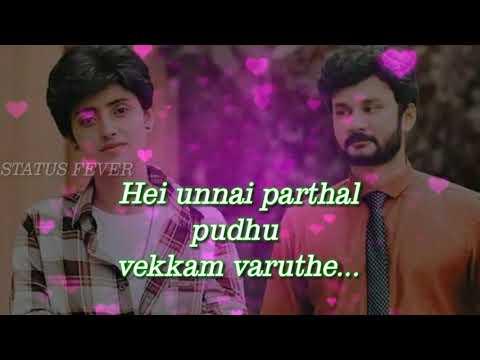 Sathiya Serial Song| Zee Tamil| Whatsapp Status Lyrics Vedio|😍😍😍😍😍😍