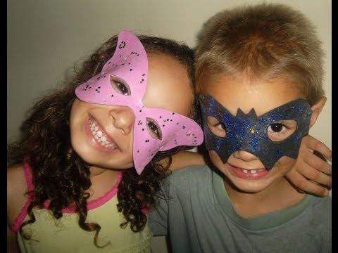 Como fazer máscara infantil,passo a passo.