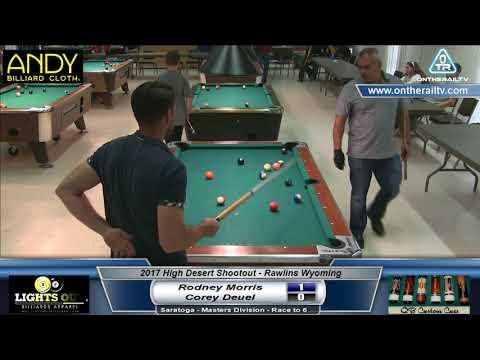Rodney Morris vs Corey Deuel - Saratoga - 2017 HDS