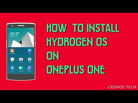 How To Install Hydrogen OS on ONEPLUS ONE