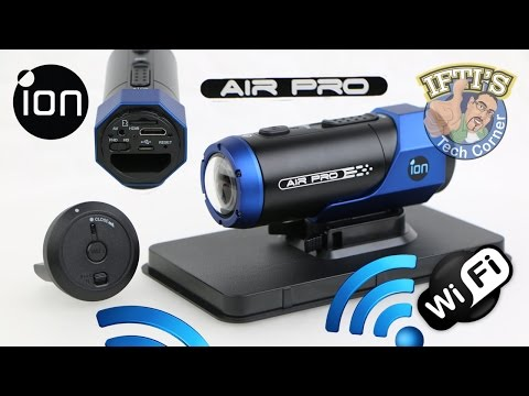 iON Air Pro Lite + WiFi Action / Helmet Camera - REVIEW