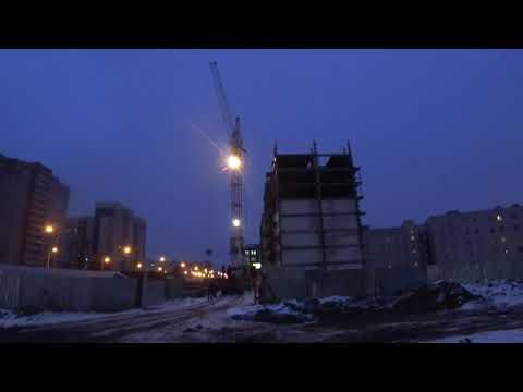 Рабочие моменты выгрузка в Череповце.