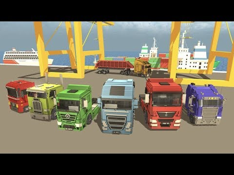 Blocky Truck Driver: Urban Transport Android Gameplay