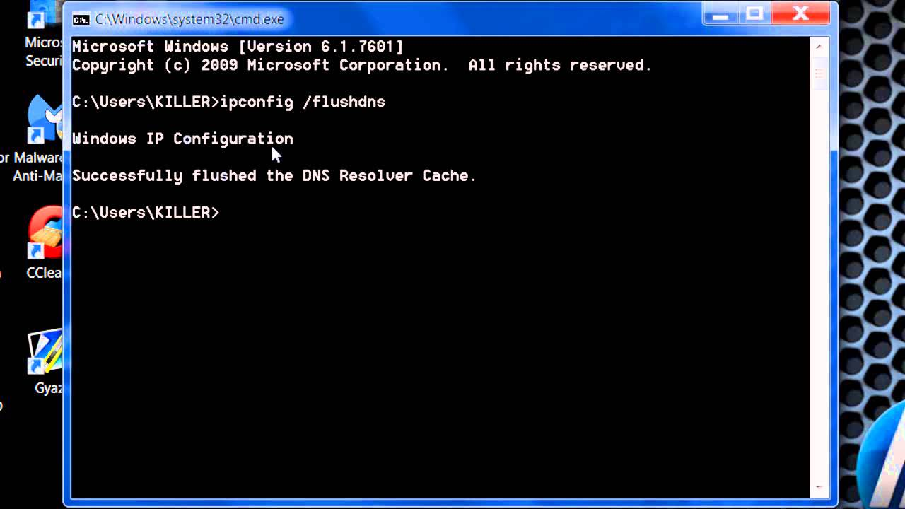 How to Flush Windows DNS Cache