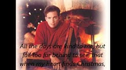 When My Heart Finds Christmas: Harry Connick Jr. + LYRICS