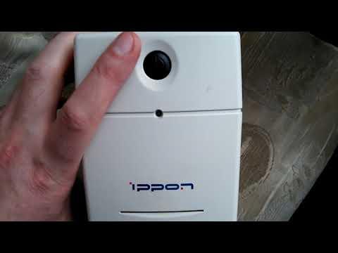 ИБП IPPON Back Power Pro 500. Очень кратко.