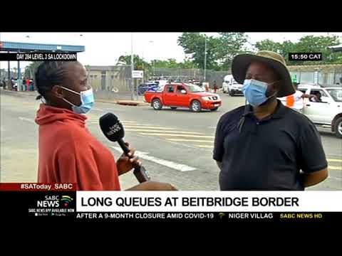 Beitbridge Border Post crowded as travellers try to beat Zimbabwe lockdown