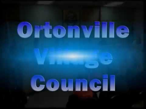 10 23 2017 Ortonville Village Council Meeting