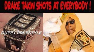 Drake DISSES Kanye West and Pusha T! Duppy Freestyle reaction