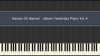 Maman Oh Maman - Album Yesterday Piano Vol 4 (Piano Tutorial)