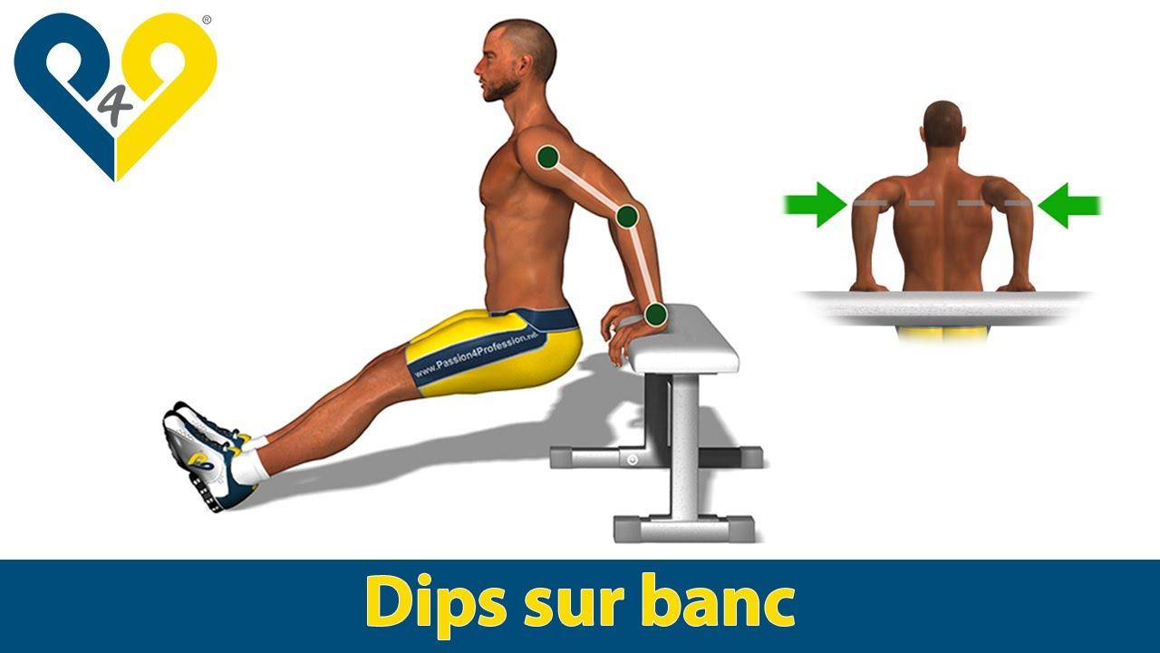 Dips Sur Banc