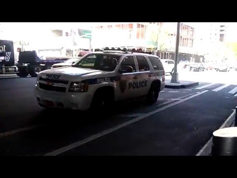 New York, New Jersey Port Authority Police K-9 SUV