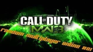 Call of Duty Modern Warfare 3 PC Gameplay ITA - Random Online #01