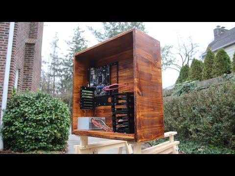 DIY Handmade Wooden PC Case!