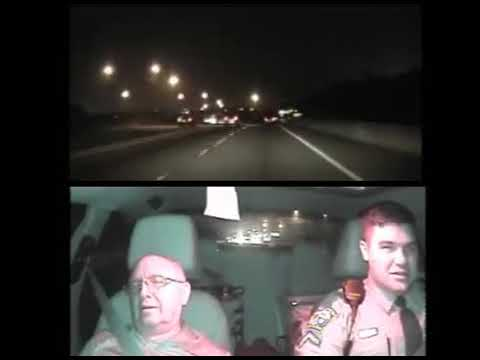S.C. Highway Patrol video of State Sen. Paul Campbell during arrest