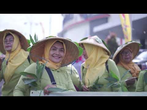 Puncak Lomba Taman Herbal Bejo 2018
