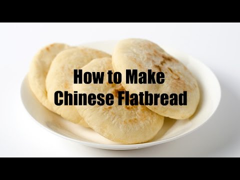 How to Make Chinese Flatbread (recipe)
