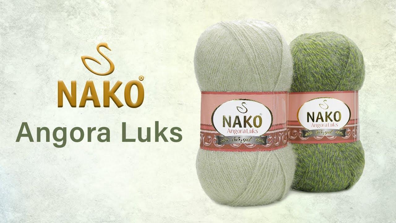 Angora Luks Nako - теплее и мягче, чем шерсть