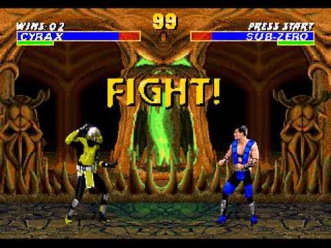 Полное прохождение игры Mortal Kombat 3 Sega Mega Drive