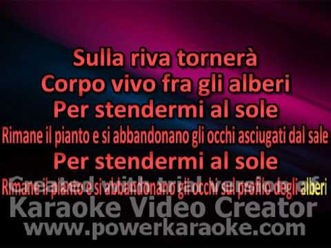 Iosonouncane Stormi karaoke