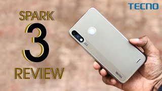 TECNO Spark 3 Unboxing and Review