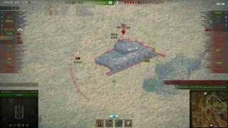 FV304 gameplay - Ace Tanker - World of Tanks - 9.9 XVM mod pack