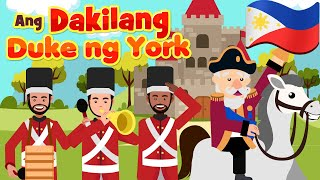 The Grand Old Duke of York in Filipino | Philippines Kids Nursery Rhymes & Songs | Awiting Pambata